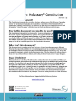 Holacracy Constitution v4.0