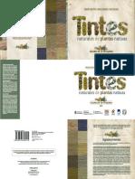 Inta Libro Tintes Naturales de Plantas Nativas Colores de La Patagonia