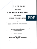 Six Sermons by George Storrs, 1856