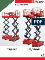 Catalogo Plataformas Aereas Xe,Xel