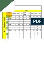 Atividade 01 Excel