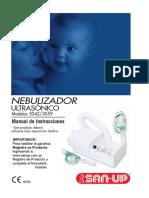 Manual Nebulizador San-up 3042