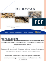 Geología, tipos de Rocas