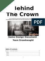 behind the crown gdd
