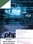 comandos gerais do php