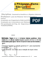 Aula de Vetores Geometria Analitica-2015