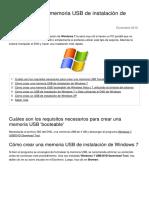 Como Crear Una Memoria Usb de Instalacion de Windows 10202 Nynsvd