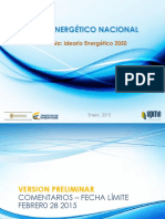 Presentacion Plan Energetico 2050