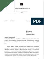 Opinia ZBP w sprawie Bazylei III przesłana do MF