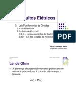 Circuitos Elétricos - Leis Fundamentais de Circuitos