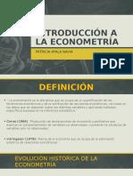 2. Introducción a La Econometría