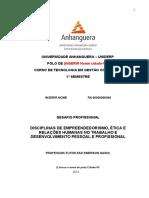 Modelo - Desafio Profissional - 2º Bim - Prof. Emerson Gaino.