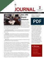 JMS Alumni Newsletter Spring 2016