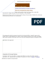 Passage Planning Guideline for Oceangoing Cargo Ships