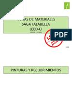 Fichas de Materiales Leed 2011