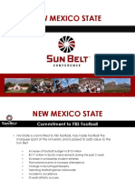 NMSU and the Sun Belt Conference