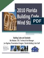 2010 Florida Building Code Wind Standard