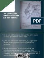 Las Guerrillas Comunistas Del Sur Del Tolima