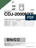 Cdj 2000nxs SM