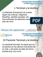 El Paciente Terminal y La Bioética