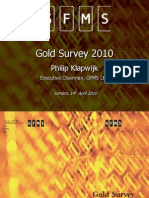 Gold Survey 2010 Presentation_London_public