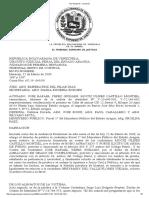 TSJ Regiones - Decisión Robo Agravado y Porte Ilicito