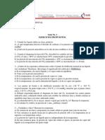Guía de Ejercicios No. 1 FQA I-2015