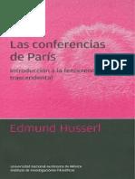 Husserl, Edmund