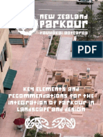 Key Elements and Recommendations for the Integration of Parkour in Landscape and Design