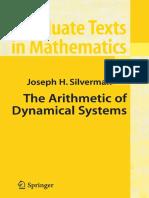 Arithmetic Dynamical Systems - Joseph Silverman