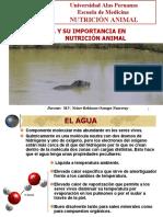 Rol Del Agua en la nutricion animal