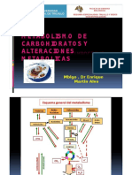 ALTERACIONES METABOLISMO CARBOHIDRATOS