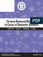Prosecutors Against Gun Violence Report