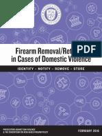 Prosecutors Against Gun Violence Report