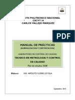 Manual de Normalizacion y Certificacion