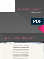 advocacy project