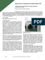 Catamaran Wetdeck slamming loads using CFD