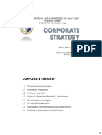 Corporate Strategy Handouts