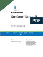 Modul 10 Struktur Beton II