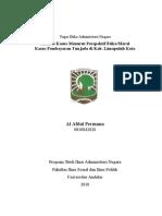 Etika Administrasi Negara Terhadap Penyelewengan Wewenang