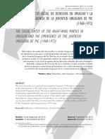 01 El Sujeto Social de Derecho en Uruguay