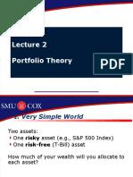 Portfolio Theory Presentation