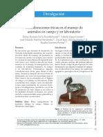 Lectura Lab Invertebrados CONSIDERACIONES ETICAS