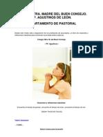 COLEGIO NTRA. MADRE DEL BUEN CONSEJO. PP. AGUSTINOS DE LEÓN. DEPARTAMENTO DE PASTORAL