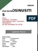 Presentation LAPKAS Rhinosinusitis