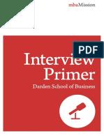UVA Darden Interview Primer