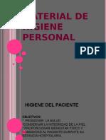 Material de Higiene Personal
