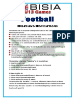 u13 fobisia rules and regulations football