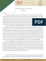 """Adriana Colón - Juan José Arreola, análisis del cuento """"Para entrar al jardín"""""""