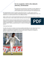 Arvind Pandit-Involve to re-spend a visit to the obstacle concerning ex-cricketers' involvement